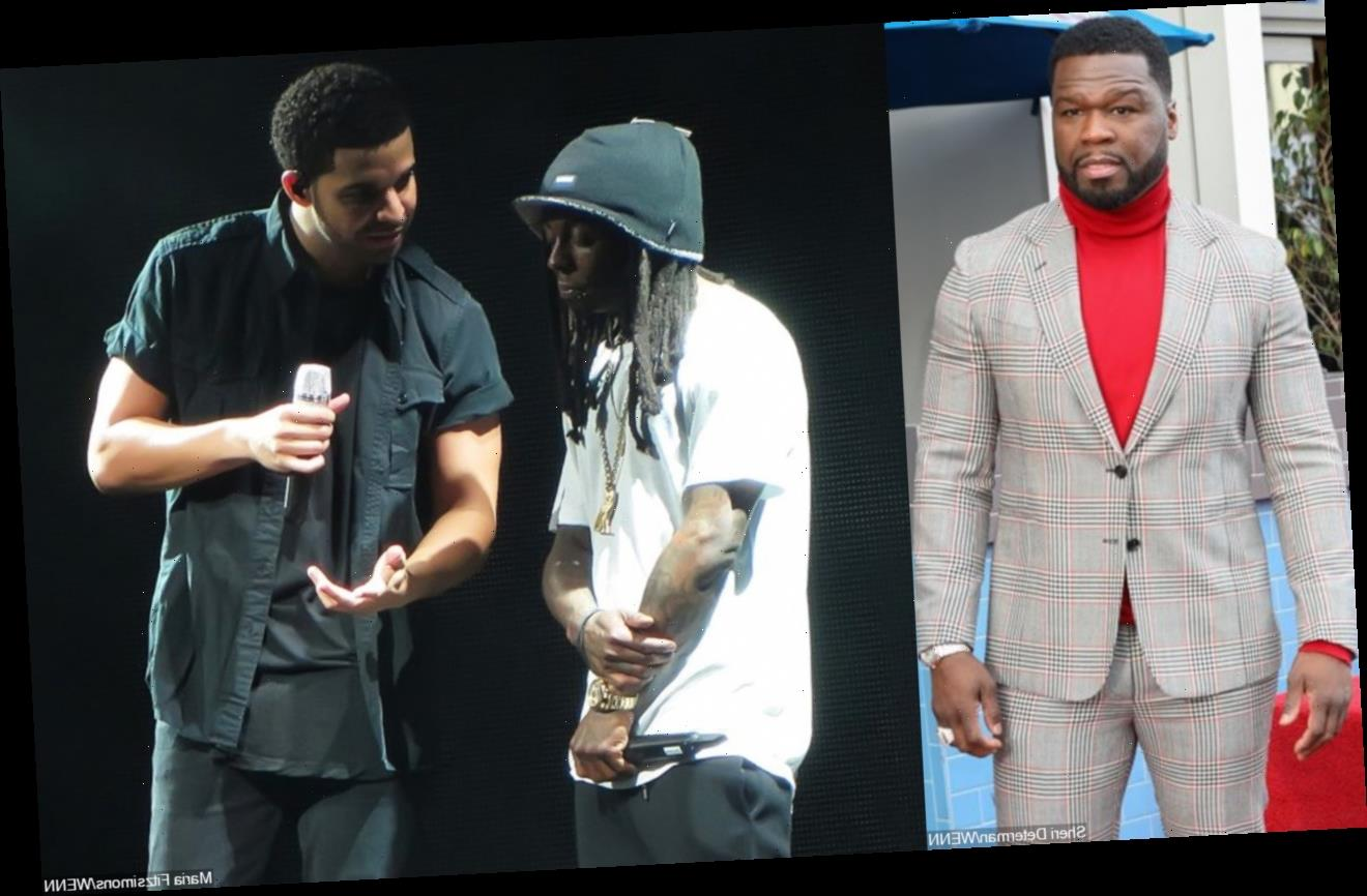 50 Cent Challenges Lil Wayne to Do Verzuz Battle With Drake