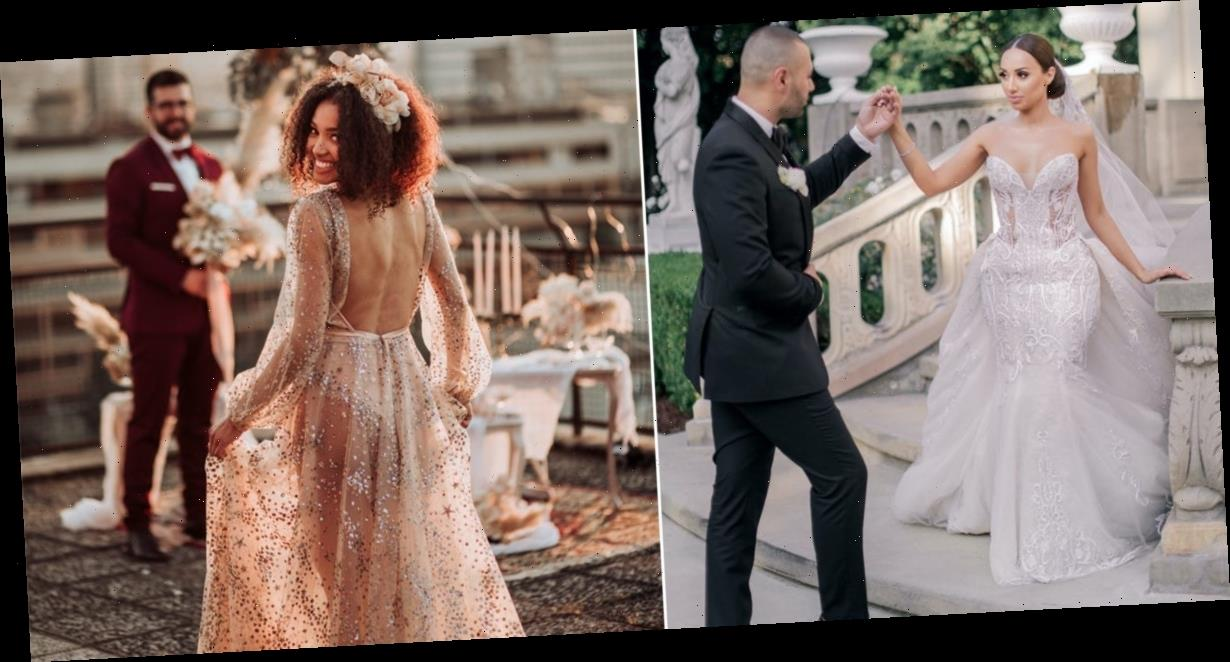 28 of the most beautiful wedding dresses brides wore in 2020