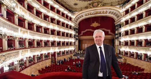 The Man Guiding Italy's Oldest Opera House Through the Pandemic