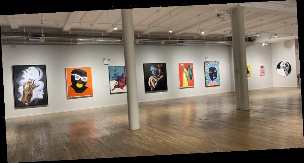 "Destinee Ross-Sutton Launches ""Black Voices"" Exhibition in Namesake Gallery"