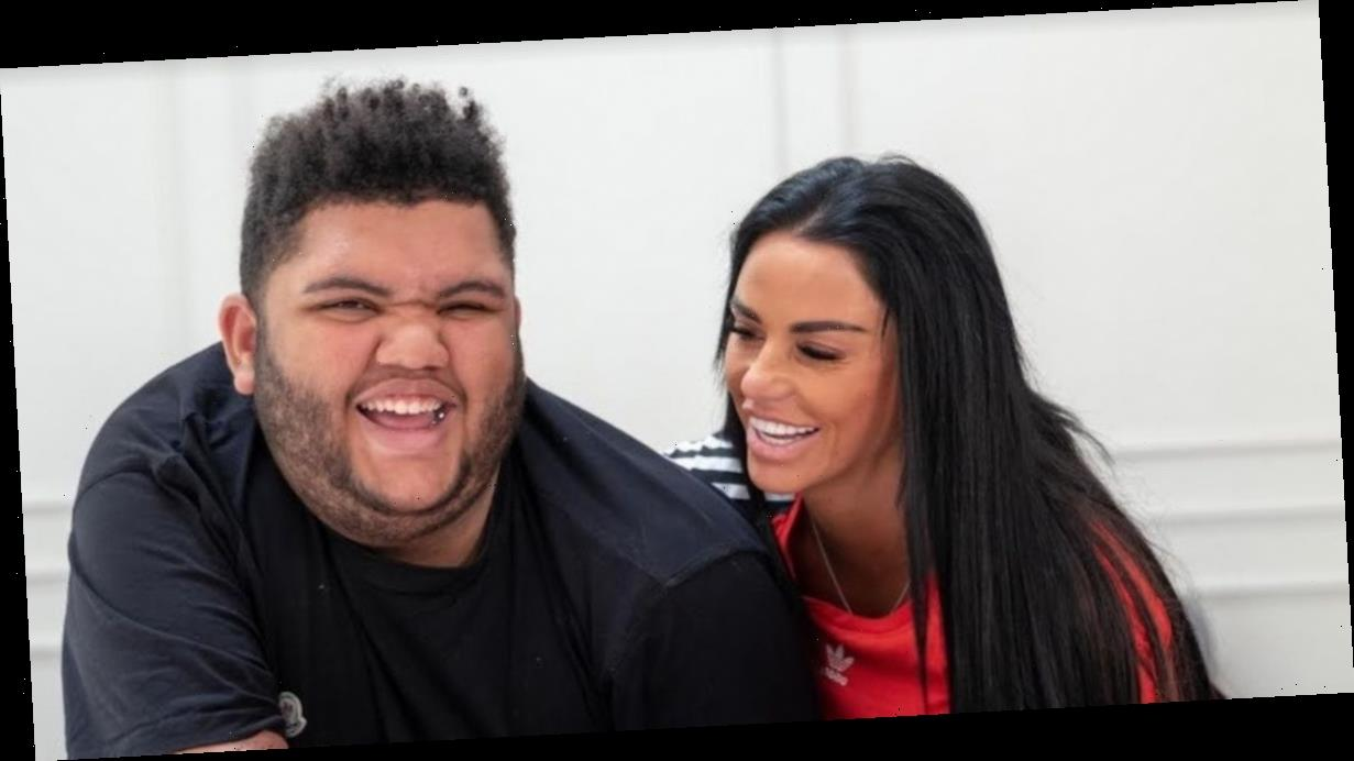 Katie Price talks Harvey medication as pair say he'd be a 'nightmare' without it