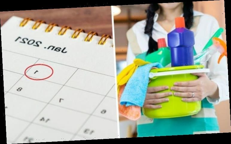 New Year's Cleaning: The 14 cleaning jobs to tackle in the New Year