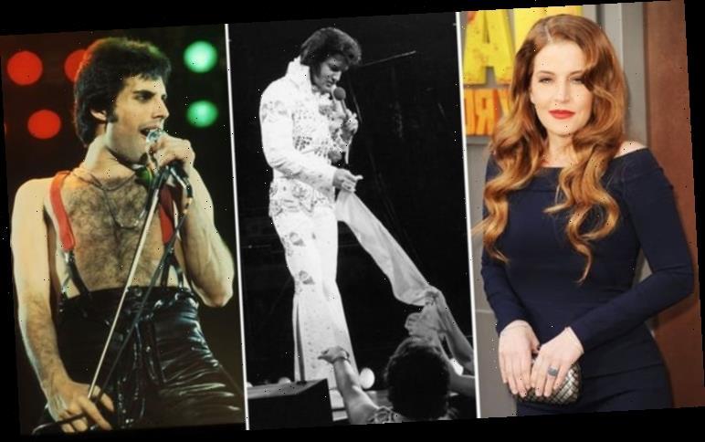 Elvis Presley: Lisa Marie gave Freddie Mercury one of The King's scarves at Queen concert