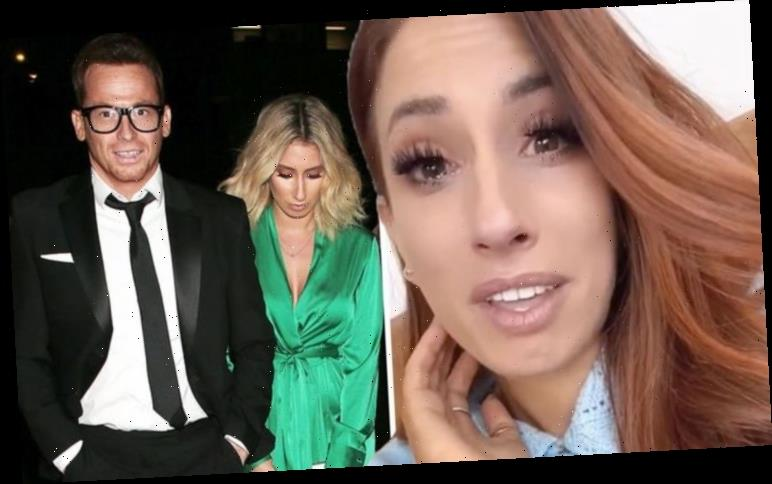 Stacey Solomon breaks down in tears as she travels home after addressing 'weird' situation