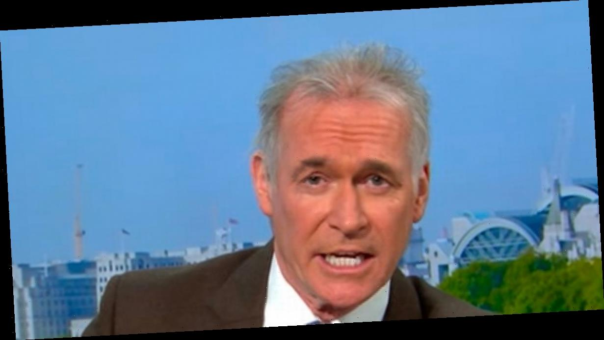 GMB's Dr Hilary clashes with guest over 'scaremongering' in furious Covid row