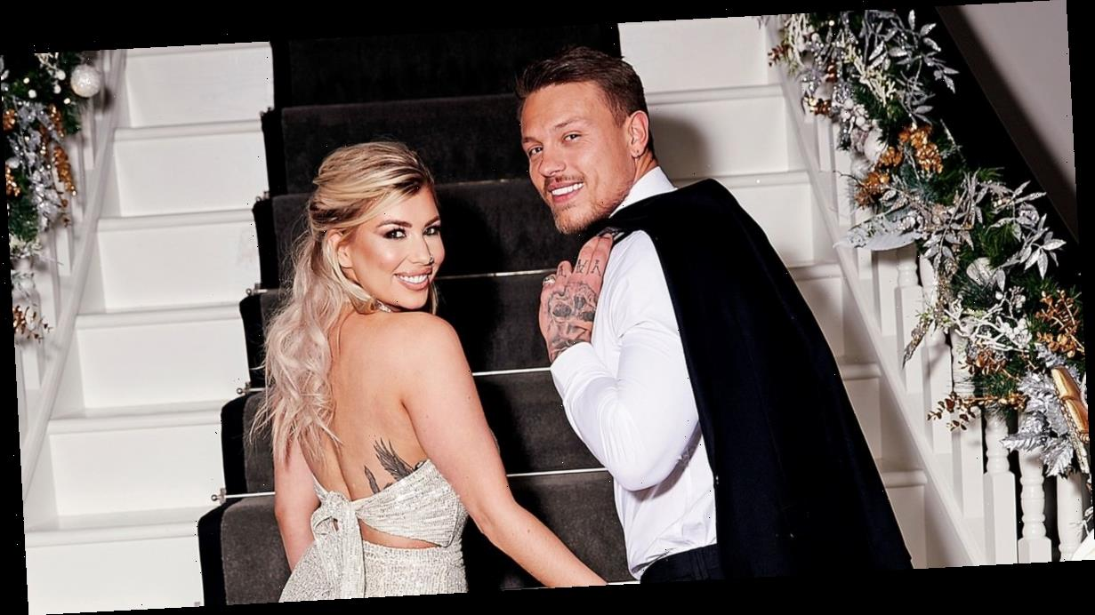 Alex and Olivia Bowen unveil jaw-dropping refurbished mansion with incredible staircase and home gym