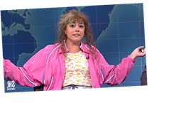 'SNL's' Cathy Anne Has The Answer For Insurrectionists: Throw The Nazis In Prison