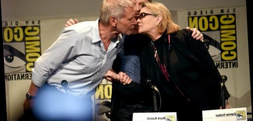 Carrie Fisher Said Harrison Ford Called Her A 'Bad Kisser'