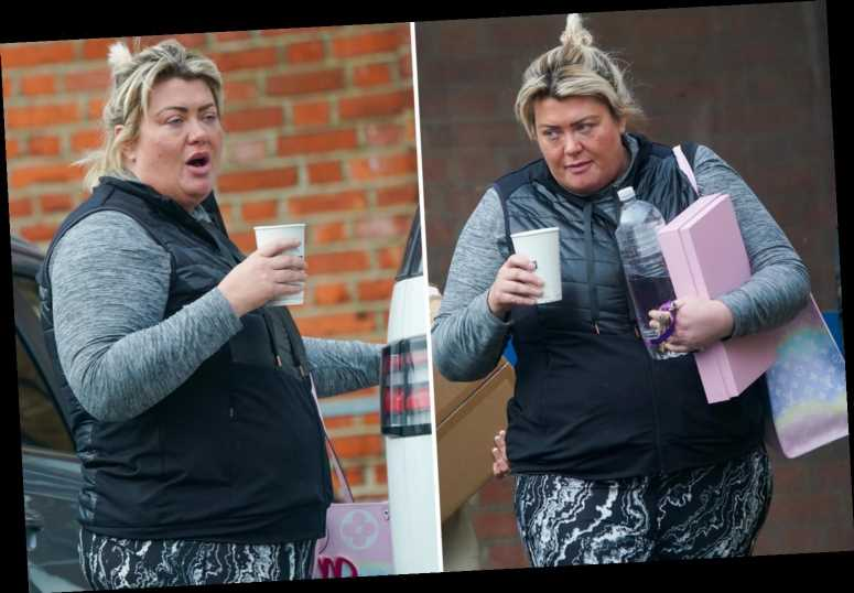 Gemma Collins puts on a brave face as she's seen for the first time since revealing dad's coronavirus battle