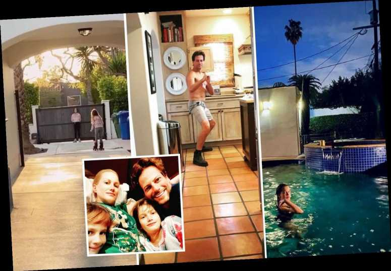 Inside Ioan Gruffudd's incredible LA home with stunning pool that he shared with wife Alice Evans before shock split