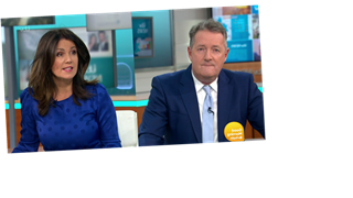 Piers Morgan clashes with Good Morning Britain guest who refuses to denounce 'mentally unfit' Trump after Capitol riots