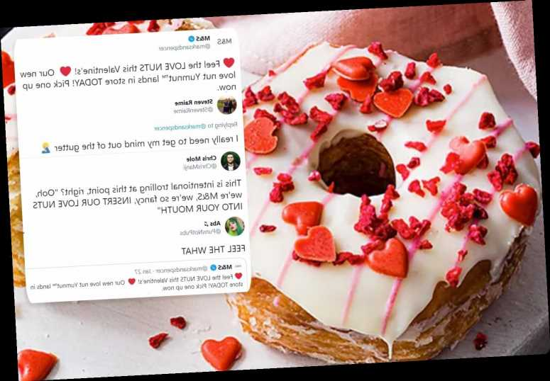 M&S has launched a Valentine's Day 'Love Nut Yumnut' and fans are in hysterics