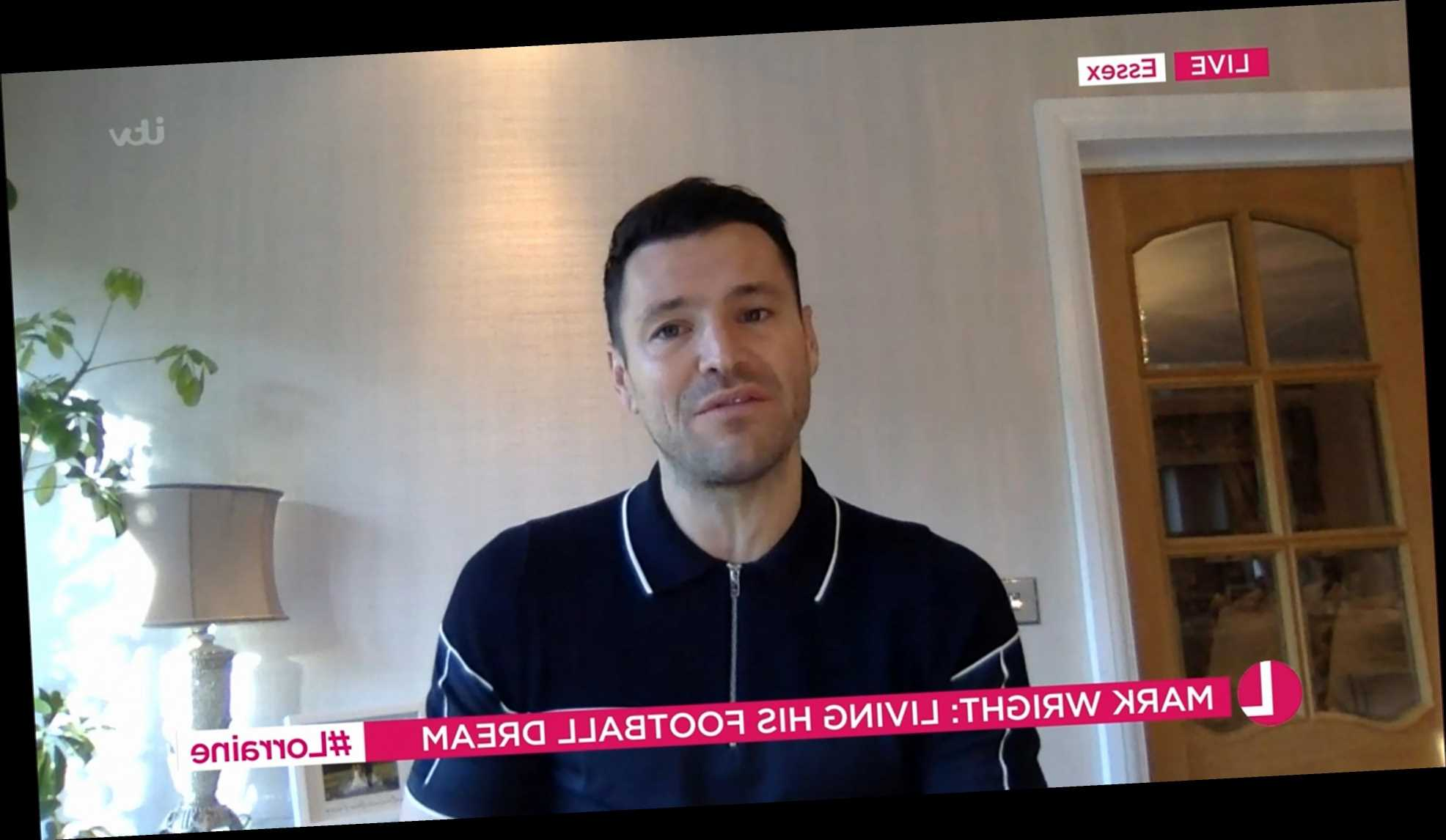 Mark Wright pays tribute to former Towie co-star Mick Norcross on Lorraine after he's found dead in his home
