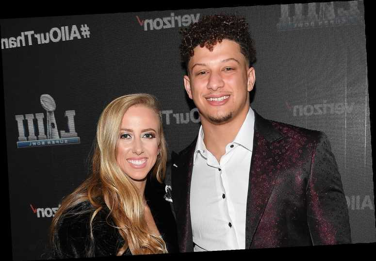Brittany Matthews Says Fiancé Patrick Mahomes Is Doing 'Fine' After He Suffered a Concussion