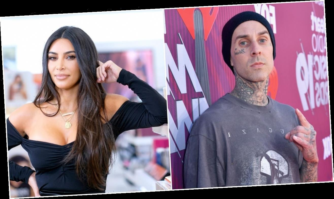 Travis Barker Said He Had a Crush on Kim Kardashian in Unearthed Interview