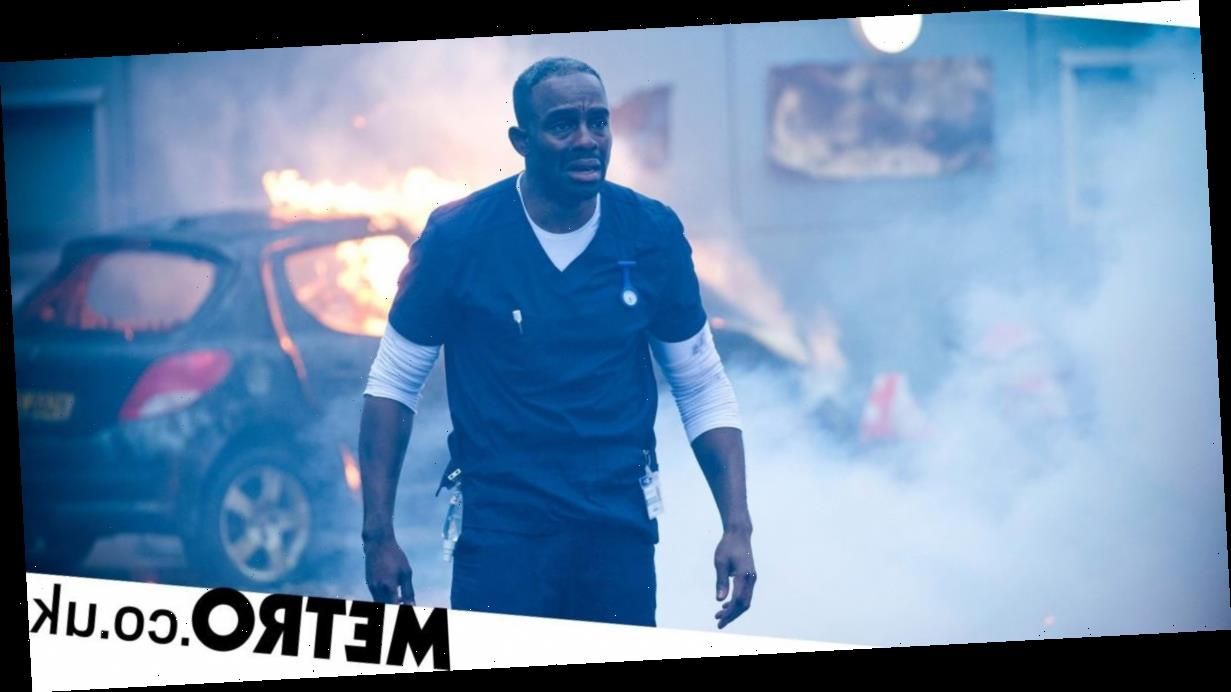 Casualty spoilers: Jacob's life on the line as he confronts a suicide bomber