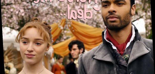 Bridgerton's Regé-Jean Page Responds To Romance Rumors With Co-Star Phoebe Dynevor