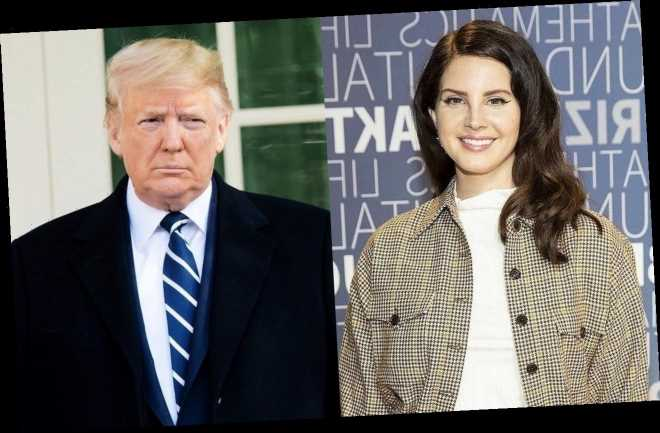 Lana Del Rey Insists Donald Trump's 'Madness' Was Necessary to Spark Change in U.S.