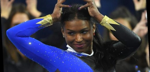 Nia Dennis' Black Excellence Gymnastics Routine Is a Thing of Beauty