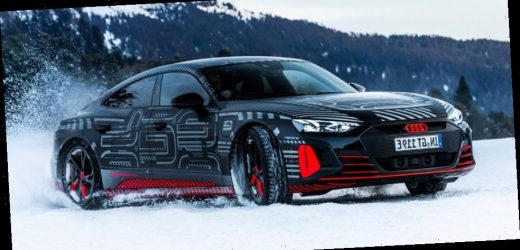 Audi's Electric e-tron GT Sports Car Is Set for a World Premiere on February 9