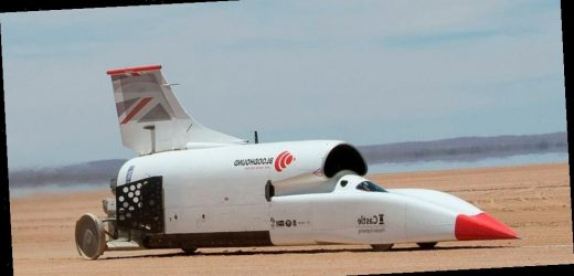 Bloodhound LSR Is a Potential 1,000MPH Rocket-Car Selling for $11 Million USD