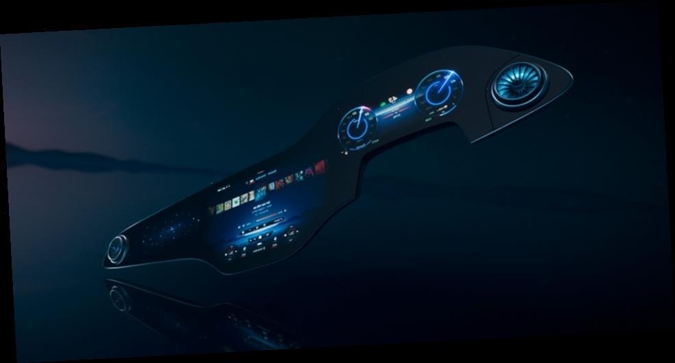 Mercedes-Benz's MBUX Hyperscreen is a 56-Inch Artificial Intelligence Hub