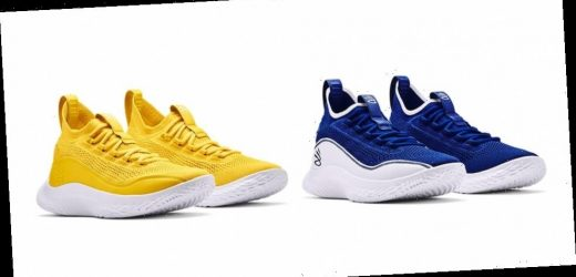 """Steph Curry Salutes Dub Nation With Curry Flow 8 """"Flow Like Water"""" and """"Smooth Butter Flow"""""""