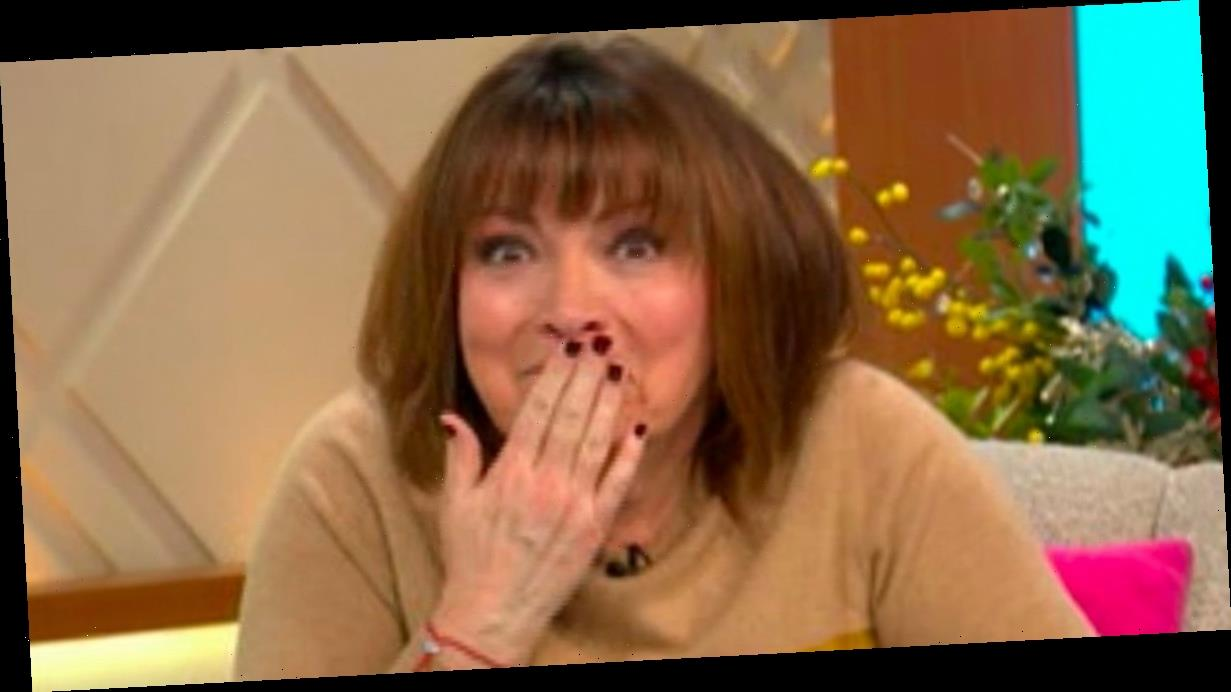Lorraine Kelly apologises as Dancing on Ice's Graham Bell swears live on show