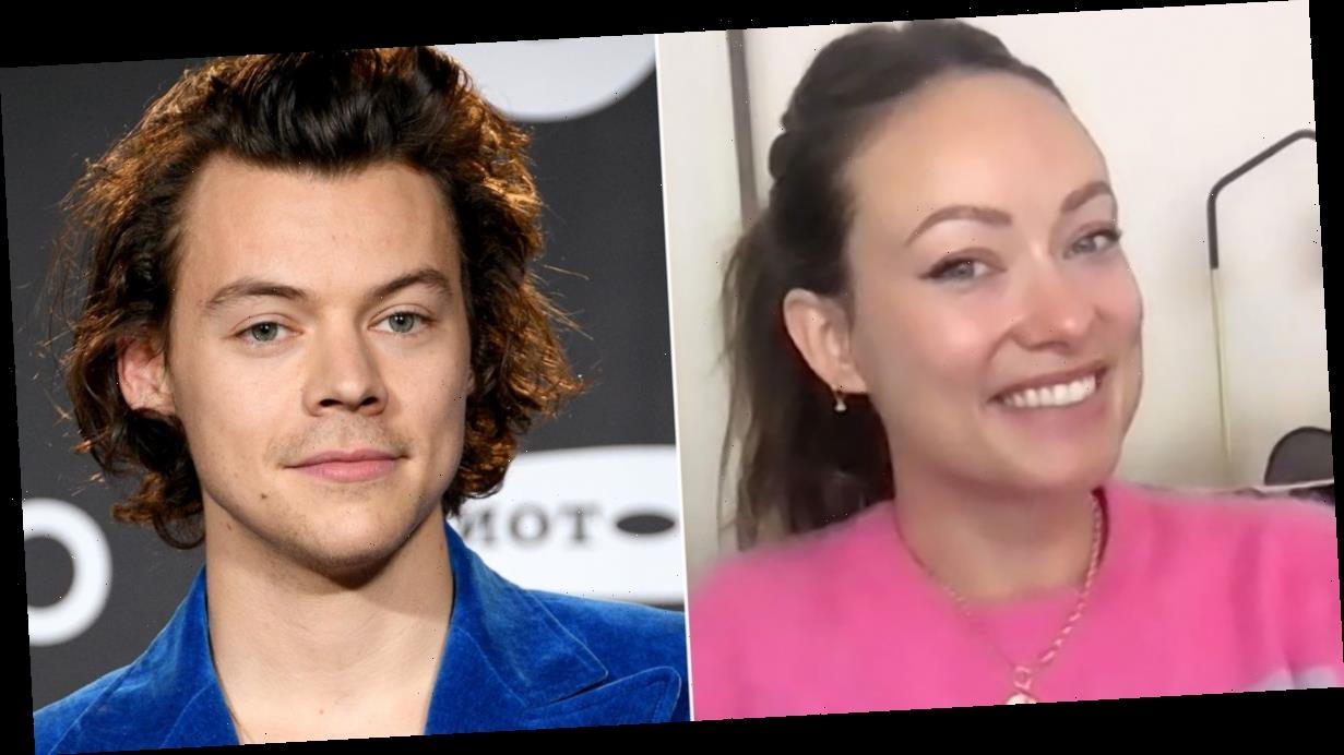 Olivia Wilde says Harry Styles 'blew her away' as she speaks publicly about rumoured boyfriend for first time