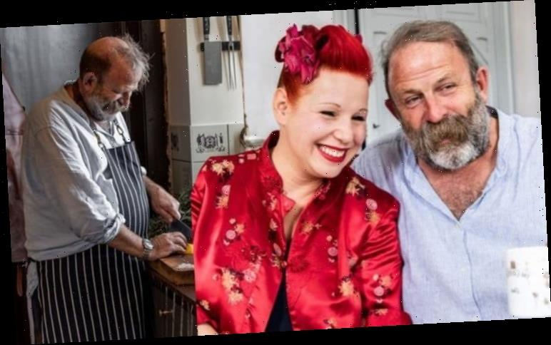 Dick Strawbridge: Escape To The Chateau star left walking with stick following knee injury