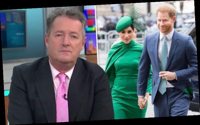 Piers Morgan called out for mocking Harry and Meghan minutes after sharing 'be kind' post