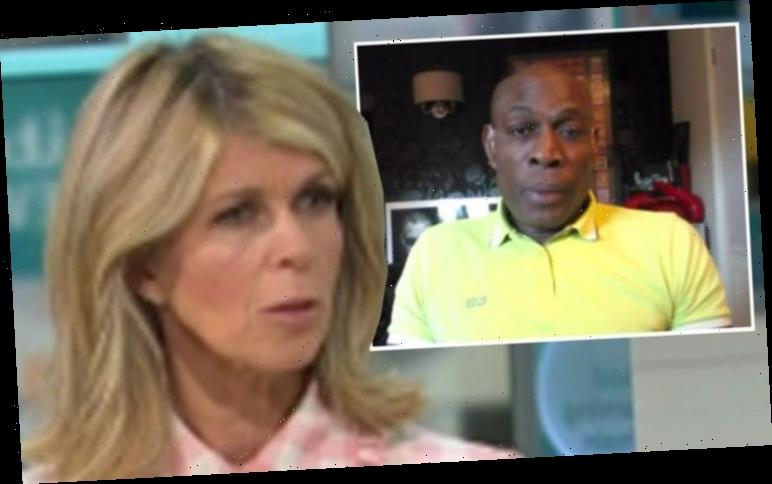 Kate Garraway touched by Frank Bruno message of support after two months away from Derek