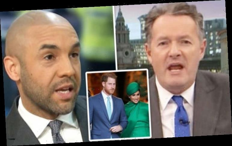 Piers Morgan fumes at GMB's Alex Beresford for defending Prince Harry and Meghan Markle