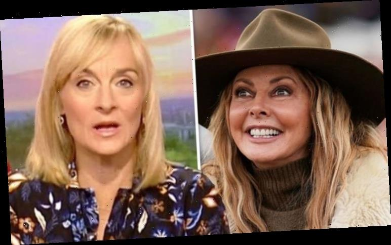 Louise Minchin reacts as Carol Vorderman's co-star makes his BBC Breakfast debut