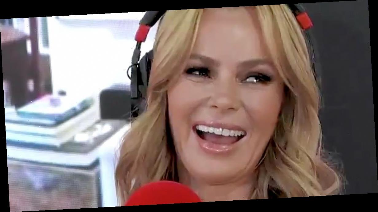 Amanda Holden flashes 'low cut' top as she vows to cover up after turning 50
