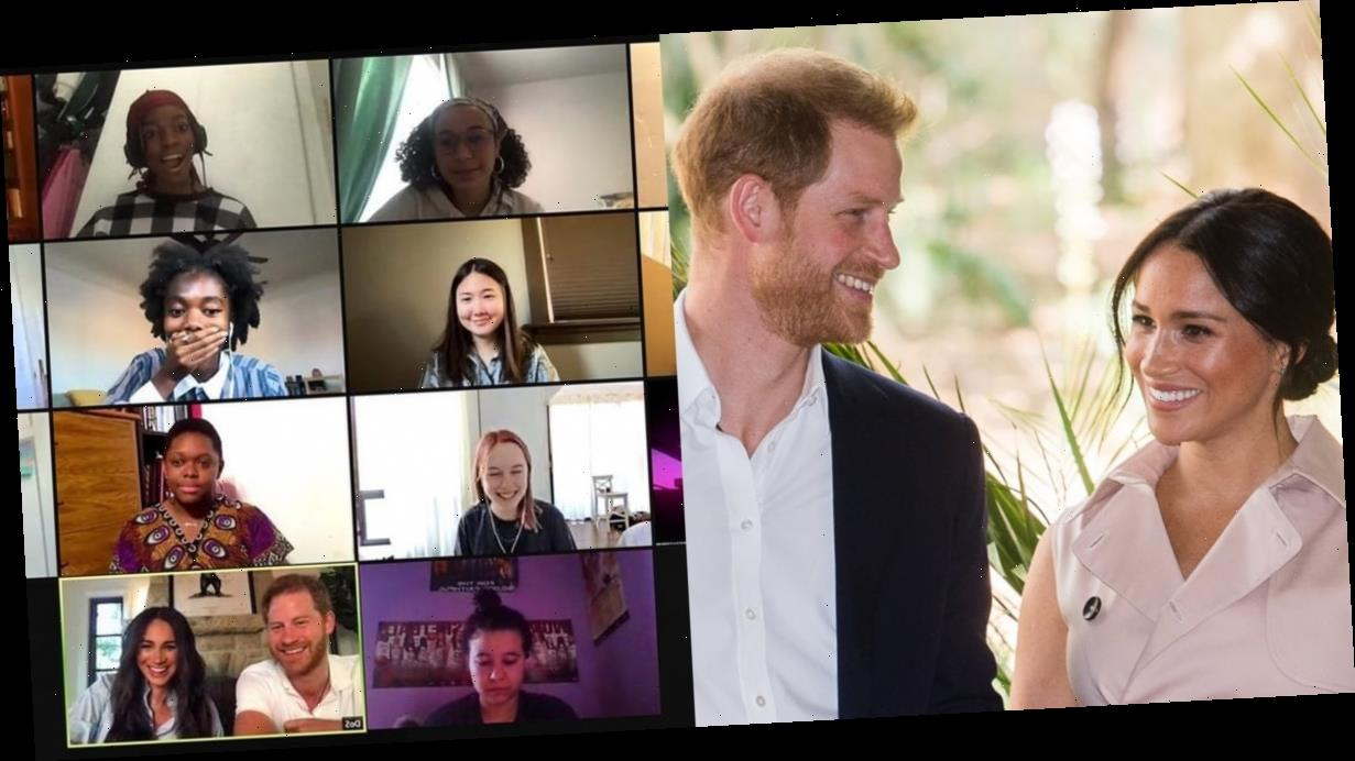 Meghan Markle and Prince Harry Got a Priceless Reaction When They Surprised a Poetry Class