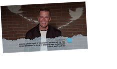 Tom Brady Can't Keep It Together While Reading Mean Tweets
