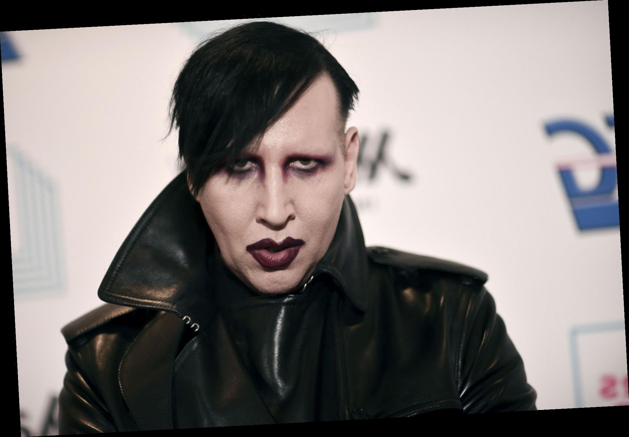 Marilyn Manson denies Evan Rachel Wood's abuse allegations