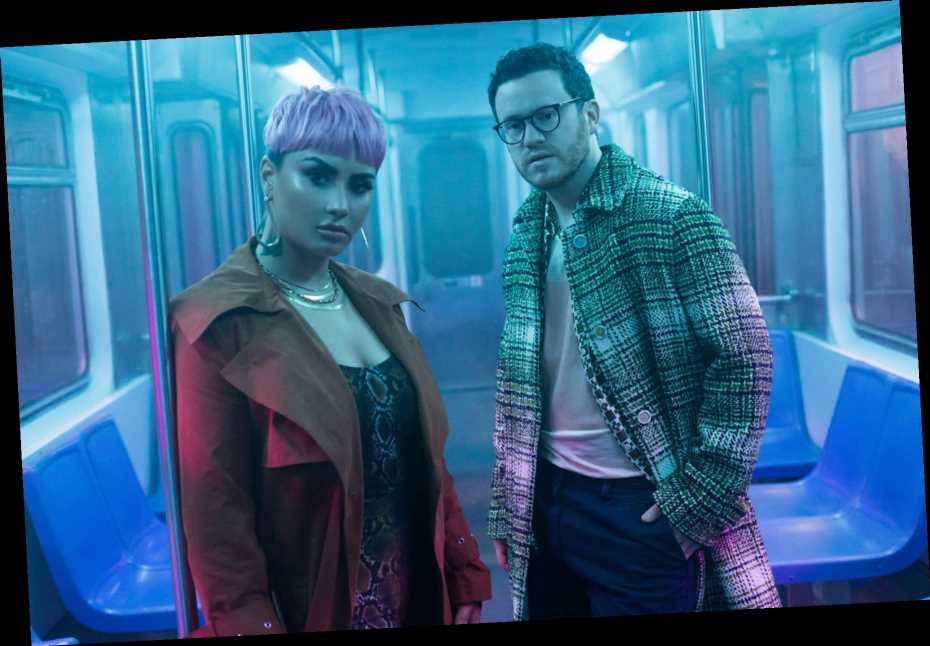 Demi Lovato, Sam Fischer Take an Emotional Train Ride in 'What Other People Say' Video