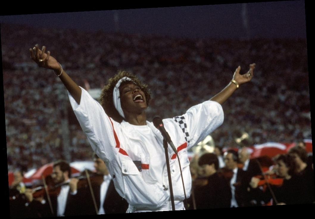 Super Bowl: Whitney Houston's Iconic Rendition of 'The Star-Spangled Banner' Was Recorded in One Take