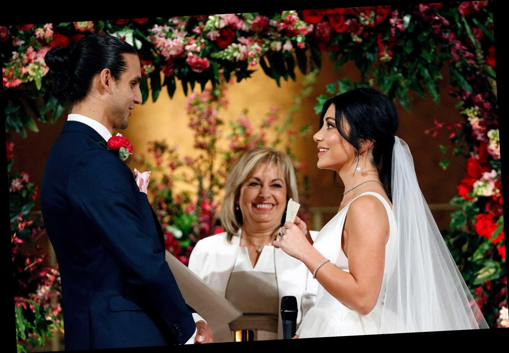 Married At First Sight Australia's fancy weddings aren't real or legally binding, producers admit