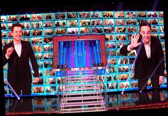 Saturday Night Takeaway fans spot huge problem with the virtual audience as Ant & Dec return – begging ITV to mute it