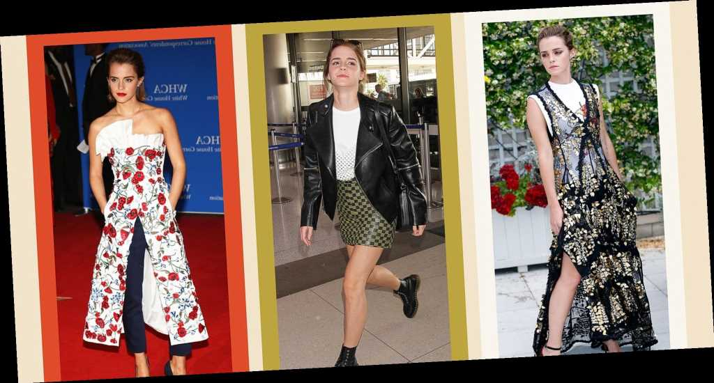 12 Fashion Tricks Emma Watson Has Been Pulling Since Her 'Harry Potter' Days
