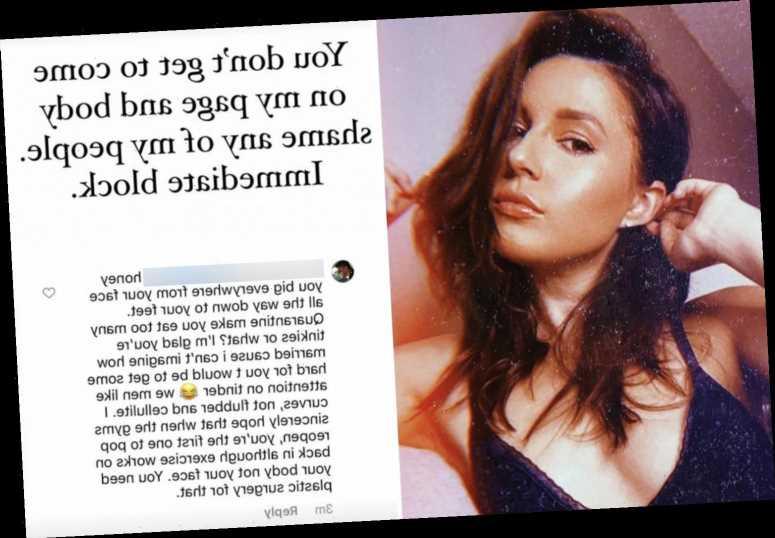 The Bachelor's Katie Thurston slams body shamers' cruel comments as rumors swirl she'll be the next Bachelorette