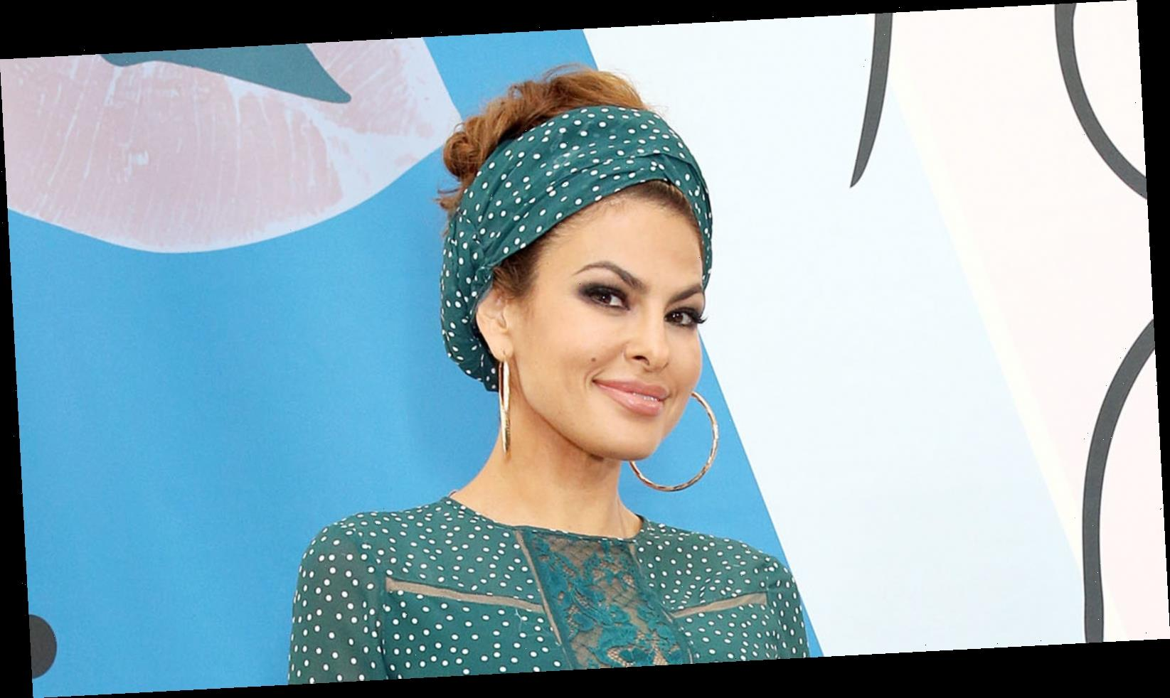 Eva Mendes Has Something To Say About Plastic Surgery Rumors