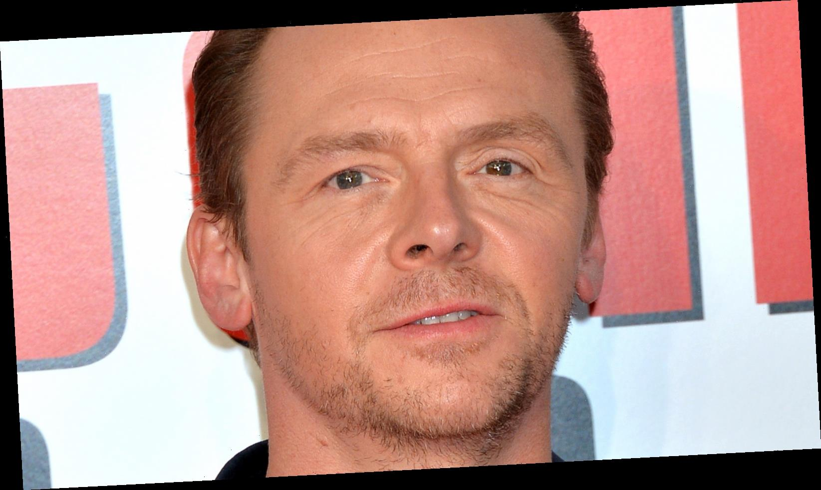 The Real Reason Simon Pegg Was Temporarily Banned From Driving