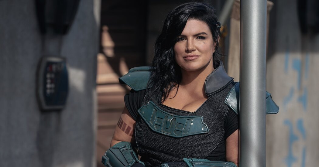 Gina Carano Is Off 'Mandalorian' Amid Backlash Over Instagram Post