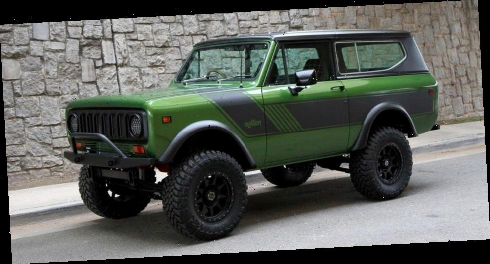 This Forest Green 1977 International Harvester Scout II Is Now for Sale