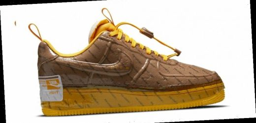 """Nike's Air Force 1 Experimental Gets a Glossy """"Archaeo Brown"""" Wrap"""