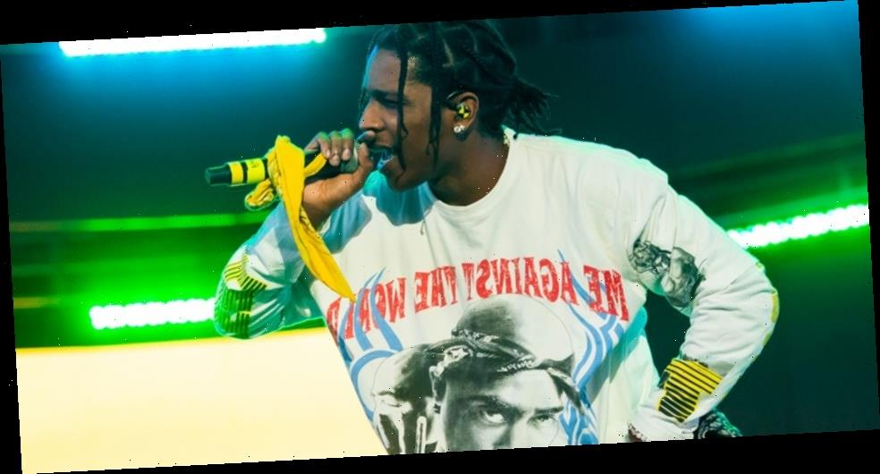 "A$AP Rocky Shares New Song ""G-Unit Rice"""